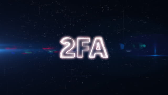 2FA word animation