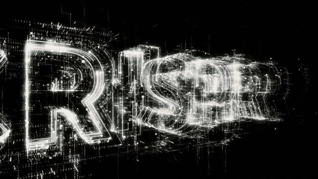 crispr word animation - biomedical illustration stock videos & royalty-free footage