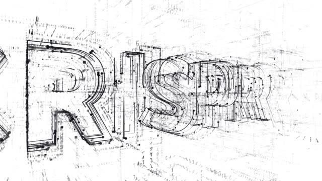 CRISPR word animation
