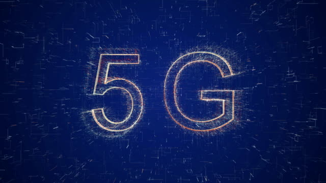 5g words animation - internet of things stock videos & royalty-free footage