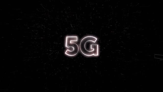 5G words animation
