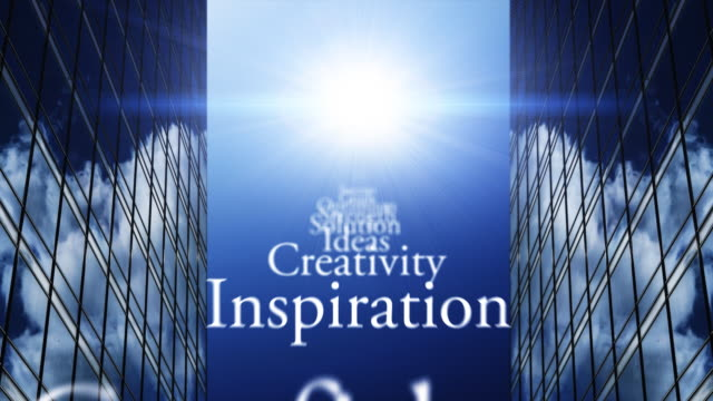 words of inspiration concept - imagination stock videos & royalty-free footage
