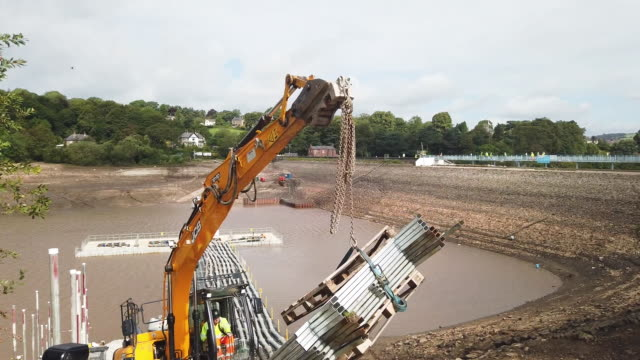 GBR: Damage Inspection Takes Place At Toddbrook Reservoir