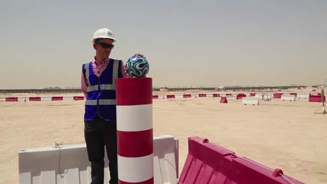 Work has begun on Lusail Stadium the 80000 seater venue which will host the Qatar 2022 World Cup final tournament organisers in the Gulf have said