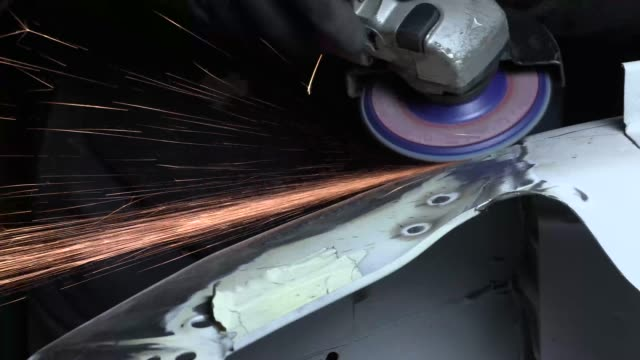 work in the body shop - bodywork stock videos & royalty-free footage