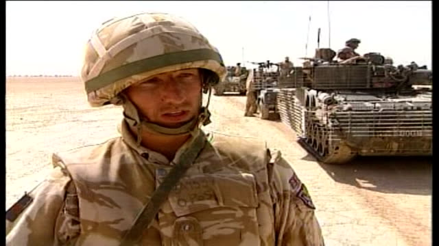 work of armoured reconnaissance squadron in helmand province; un-named soldier interview sot - i believe we are making a difference / it will be a... - helmand stock videos & royalty-free footage