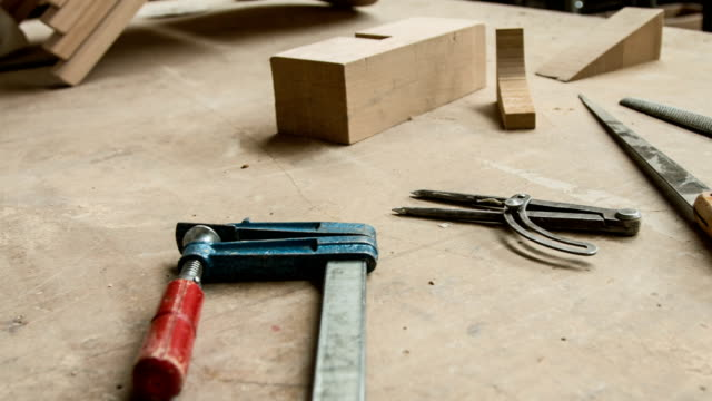 work tools - carpentry stock videos & royalty-free footage