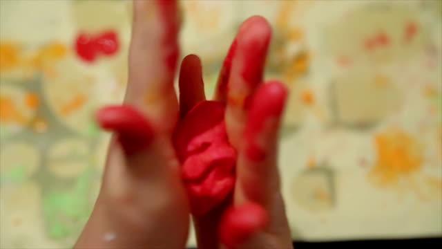 作業に plasticine - 粘土点の映像素材/bロール