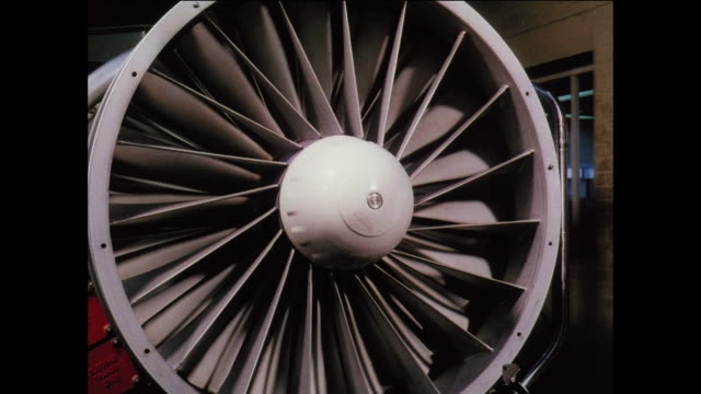 montage workers build rolls royce turbine engines in britain / uk - rolls royce stock videos and b-roll footage