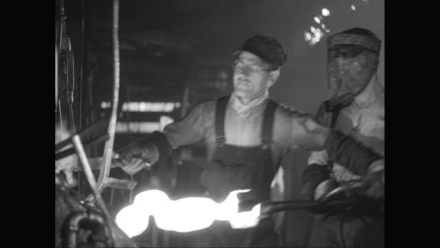 ms workers working in metal industry / united states - metal industry stock videos & royalty-free footage
