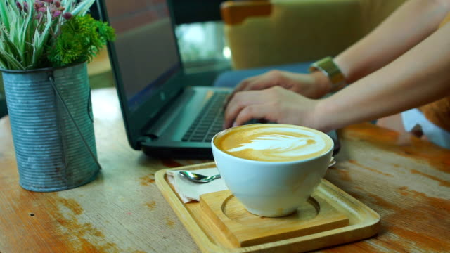 working and drink coffee - coffee drink stock videos & royalty-free footage