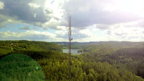 stockvideo's en b-roll-footage met werken op hoogte - antenne
