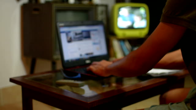 working at home - cable tv stock videos & royalty-free footage