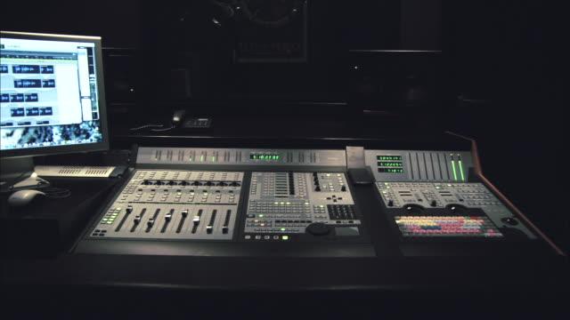 ws working audio workstation  - recording studio stock videos & royalty-free footage