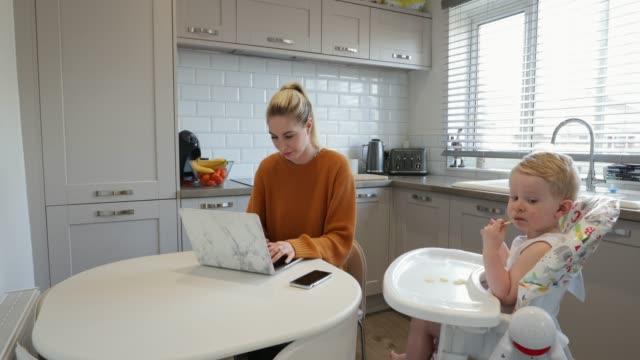 在宅勤務 - ロールモデル点の映像素材/bロール
