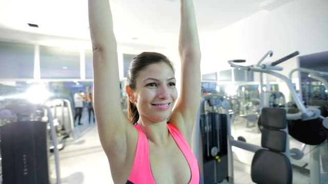 working her biceps - human limb stock videos & royalty-free footage