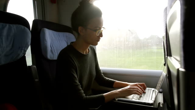Working in the Train