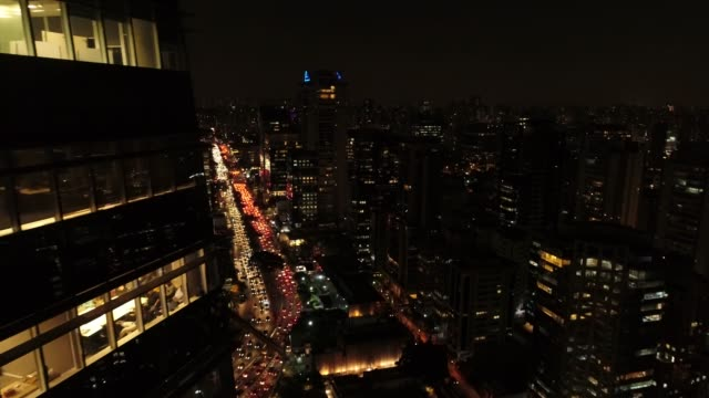 working late at night - são paulo stock videos & royalty-free footage