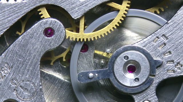Working Mechanical Clock Mechanism Macro