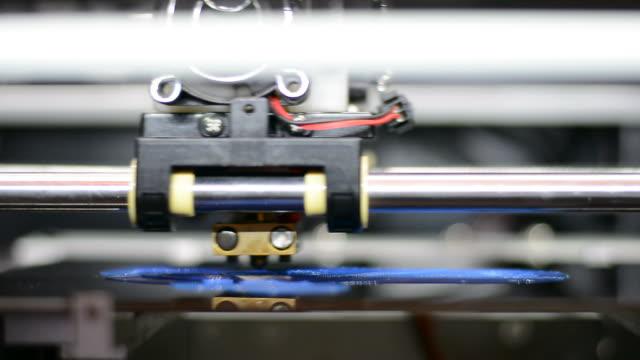 Working of 3D Printer Head