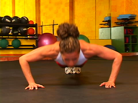 working out - bodyweight training stock videos & royalty-free footage