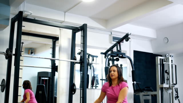 working out with fitness ball - fitness ball stock videos and b-roll footage