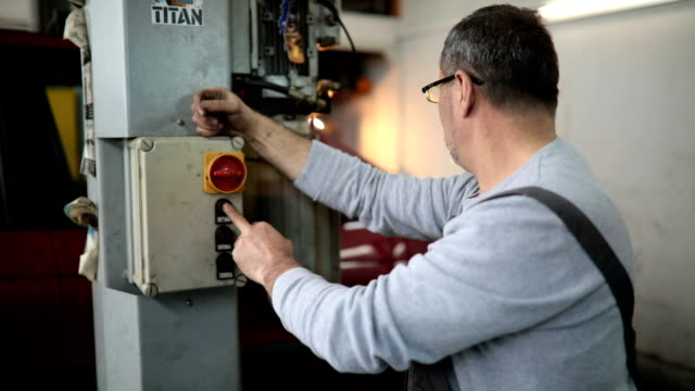 working repairman - toolbox stock videos and b-roll footage