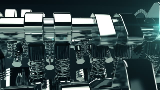 working v8 engine 3d animation - machine part stock videos & royalty-free footage