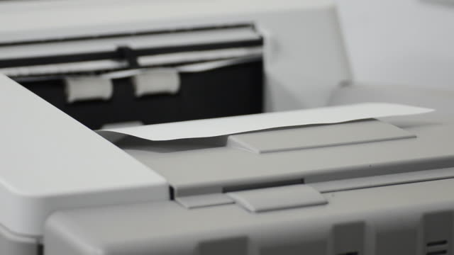 Working with Photocopier Machine