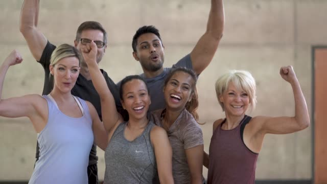 workout group - human age stock videos & royalty-free footage