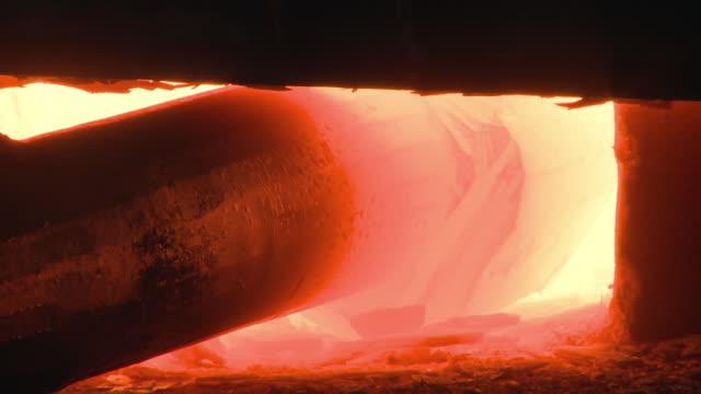 CU Workpiece in furnace  / Gueglingen, Baden-Wuerttemberg, Germany
