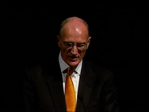 itn africa durban la delegates along at conference gvs delegates standing in conference hall entrance ls justice edwin cameron speaking at aids... - hiv aids conference stock videos & royalty-free footage