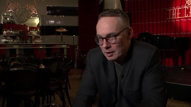 interview with three people living with HIV ENGLAND London Soho The Black Cat Cabaret Simon Roberts interview SOT CUTAWAYS reporter Herne Hill...
