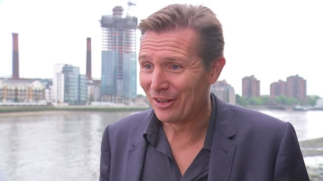 Athletes hit by vomiting bug ENGLAND London EXT Roger Black interview SOT