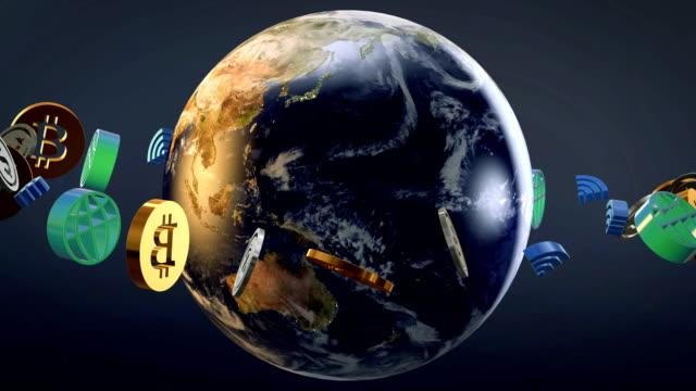 world bitcoin internet data wifi