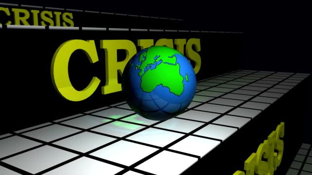 World broken due to crisis