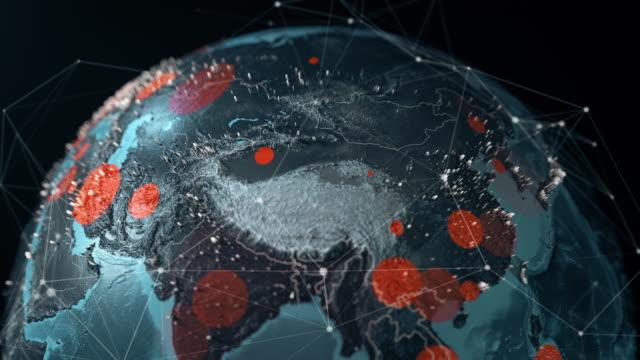 vídeos y material grabado en eventos de stock de pandemia mundial covid-19 - untar
