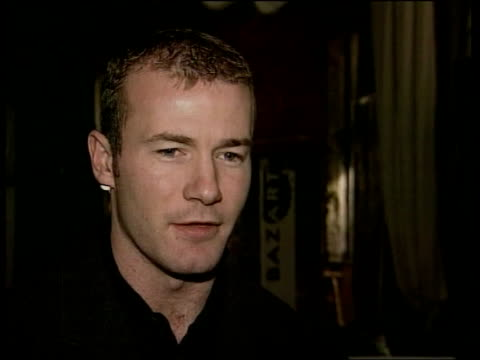 World Cup 1998 Draw INT Miller along with England striker Alan Shearer Alan Shearer intvwd Going to have to beat the best World Cup presentation...