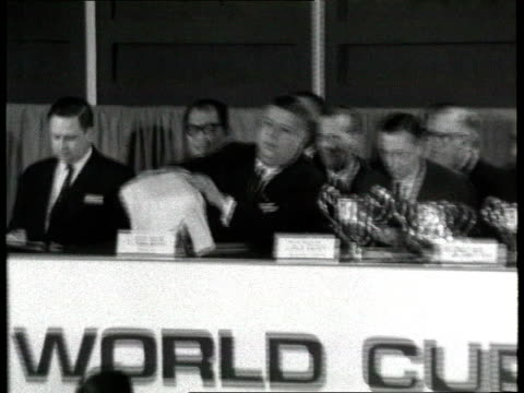 World Cup 1998 Draw LIB London INT Draw for 1966 World Cup being made