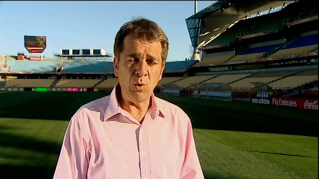 fabio capello argues with photographers rustenburg ext reporter to camera - fifa world cup 2010 stock videos & royalty-free footage