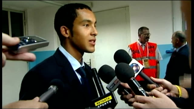 Croatia v England postmatch interviews Theo Walcott interview SOT Not just about him as whole team was fantastic / Showed how strong team is as unit...