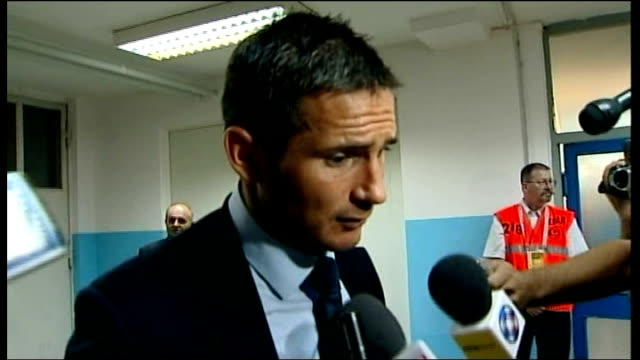 Croatia v England postmatch interviews CROATIA Zagreb Maksimir Stadium INT Frank Lampard interview SOT Some nights stick in your head with England...
