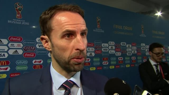 Moscow INT Gareth Southgate interview SOT