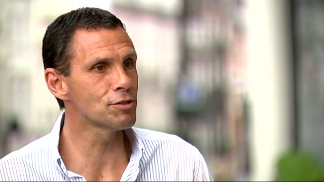 luis suarez a doubt for uruguay after injuring his knee in training london ext gus poyet interview sot - 2014 stock videos & royalty-free footage