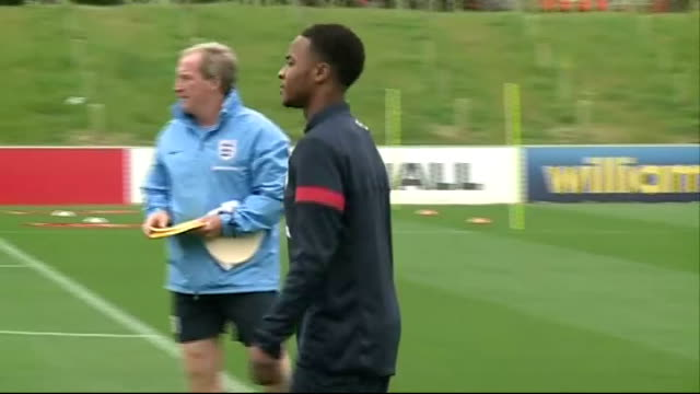 england training session england staffordshire burton upon trent st george's park national football centre ext unidentified goalkeepers at training... - national team stock videos & royalty-free footage