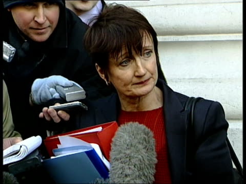 Row over Zimbabwe match ITN ENGLAND London Tessa Jowell MP speaking to press SOT They will go after today's discussion in full understanding of the...