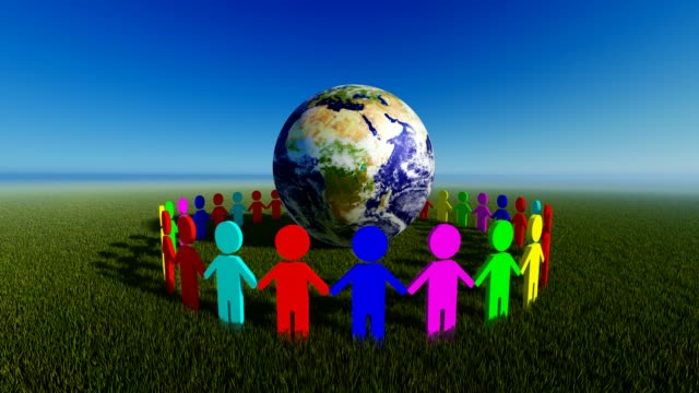 world day for cultural diversity - symbols of peace stock videos & royalty-free footage