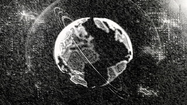 world earth on chalkboard - continent geographic area stock videos & royalty-free footage