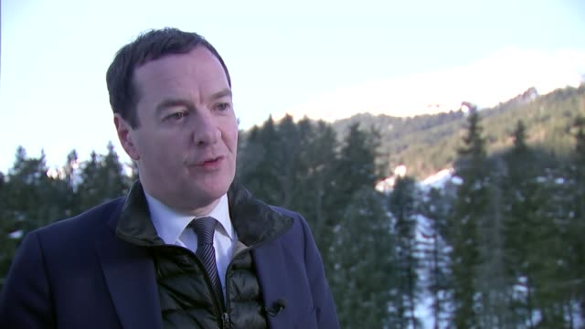 george osborne interview switzerland davos george osborne interview sot on taxing big tech companies / economic growth / trade deal with eu by the... - big tech stock videos & royalty-free footage