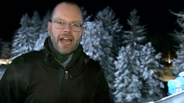 IMF lowers global growth predictions SWITZERLAND Davos Reporter to camera